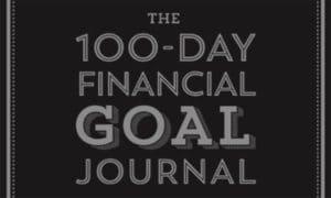 100 day financial goal journal