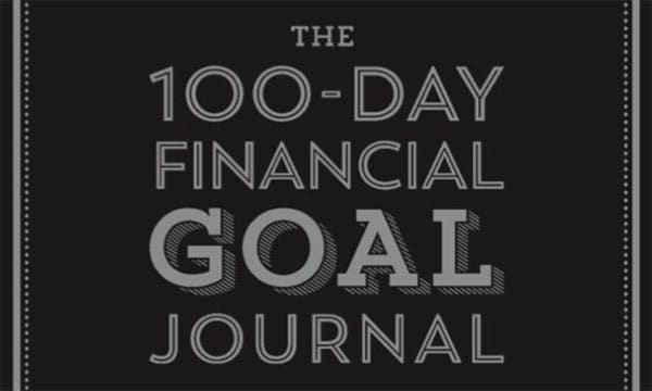 the 100 day financial goal journal