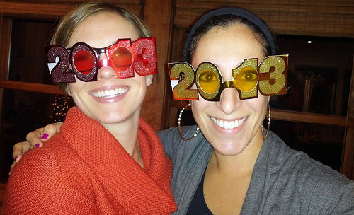 2013 new years glasses