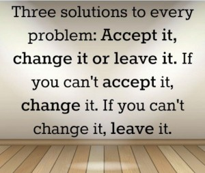 3 solutions every problem