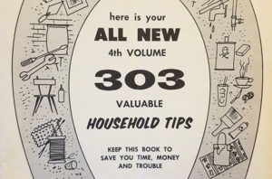 303 valuable household tips