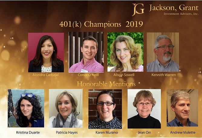 401k Champions 2019