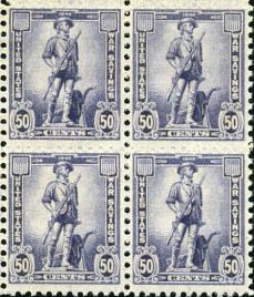 50 cent war stamps minuteman
