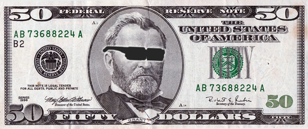50 dollar bill cool