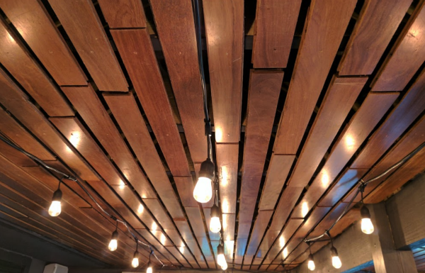 DIY ceiling