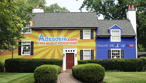 adzookie house billboard