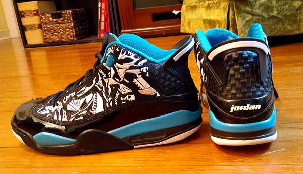 air jordan dub zero blue
