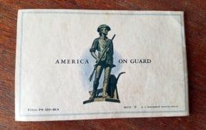america on guard - defense bonds