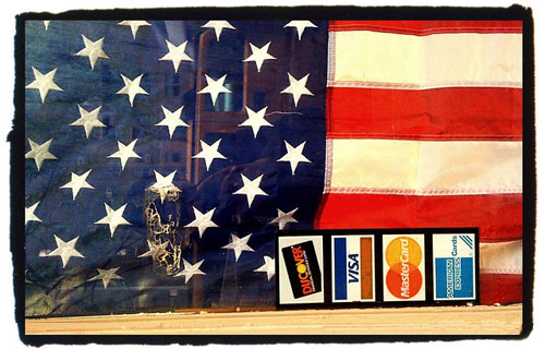 american flag credit cards