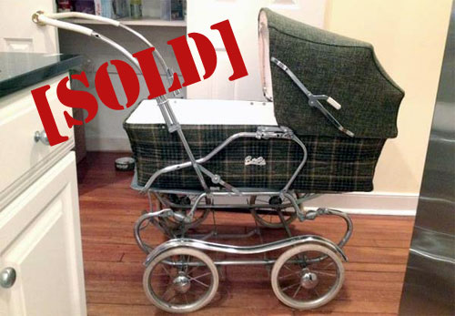 antique pram sold