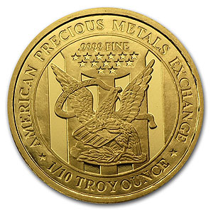 Apmex Gold Coin