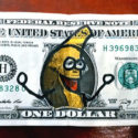 banana dollar bill