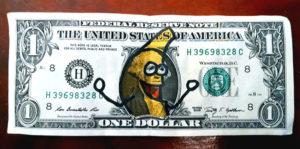 banana dollar bill
