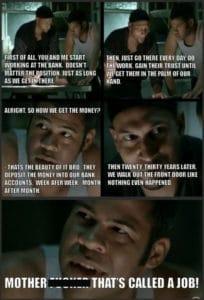 bank robbers meme