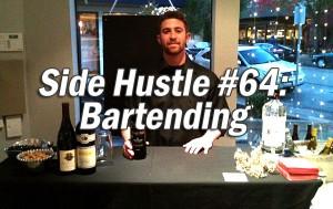 bartending for cash