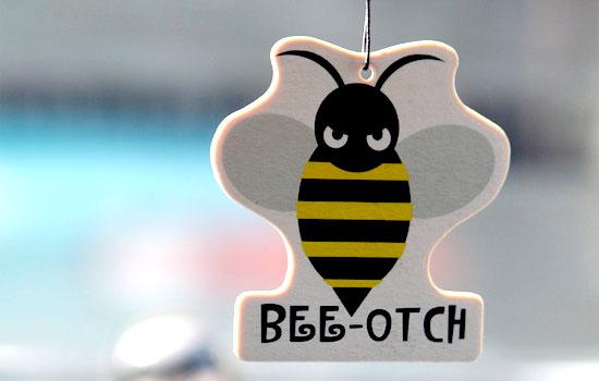 bee-otch air freshener