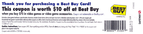 best buy coupon
