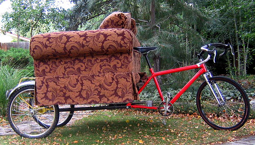 bicycle couch
