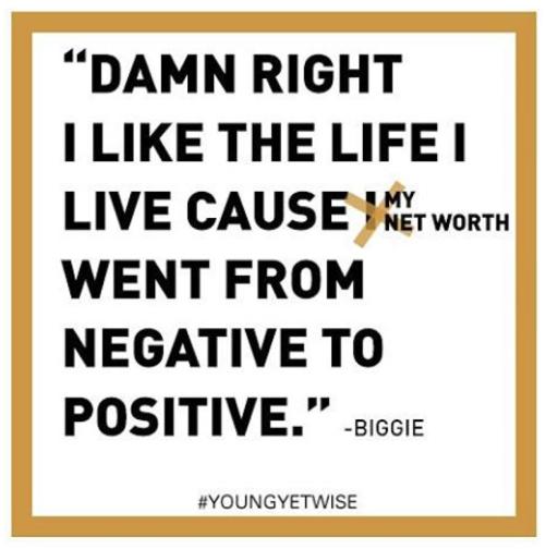biggie quote net worth