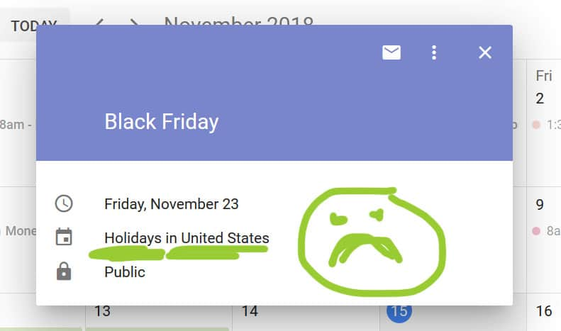 black friday holiday google