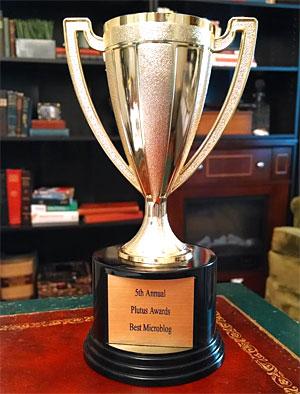 blogger award microblog