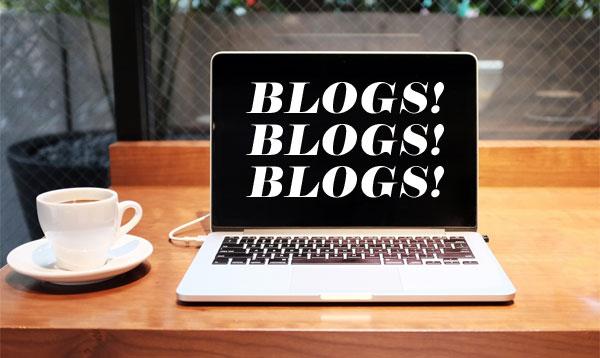 blogs! blogs! blogs!