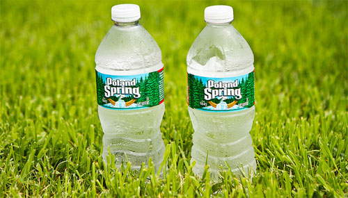 poland spring bottle water