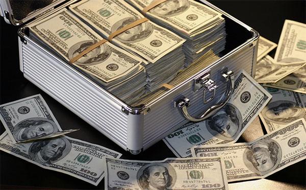 briefcase of cash
