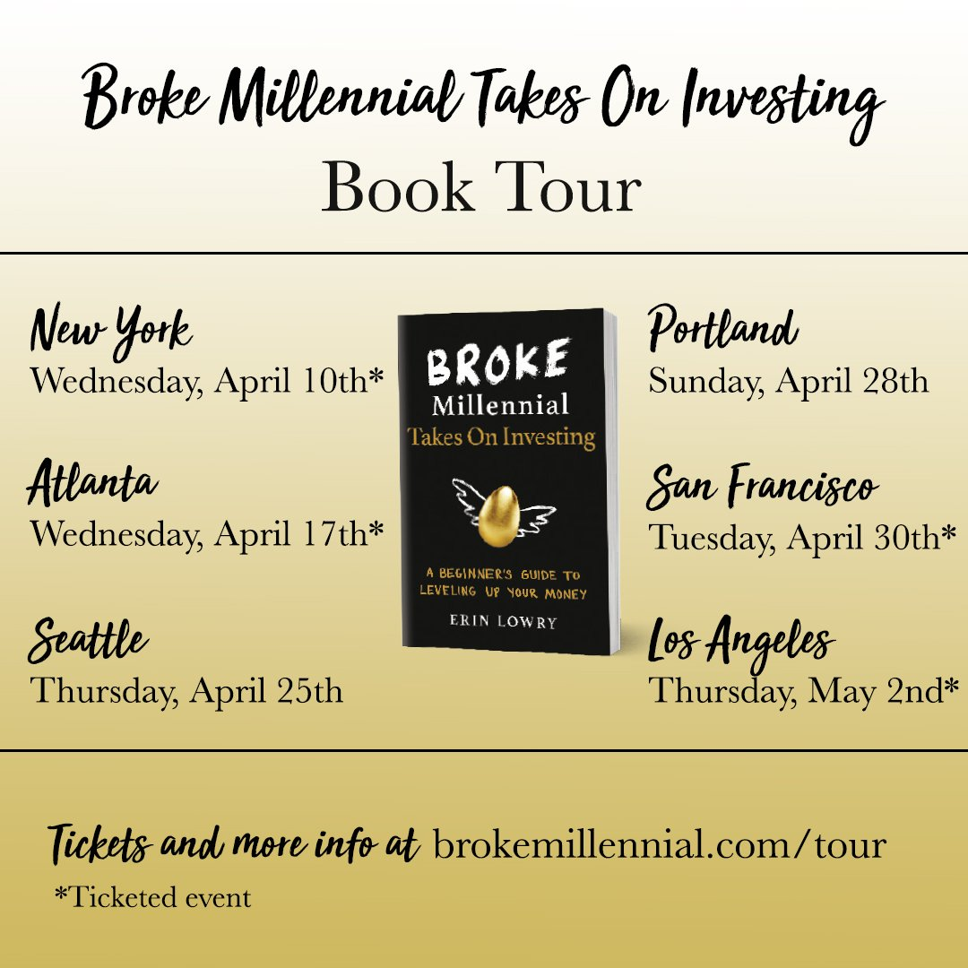 broke millennial tour dates