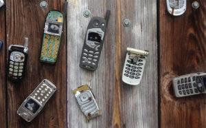 broken cell phones