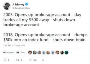 brokerage account tweet