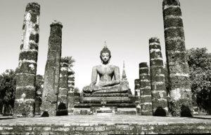 buddha pillars