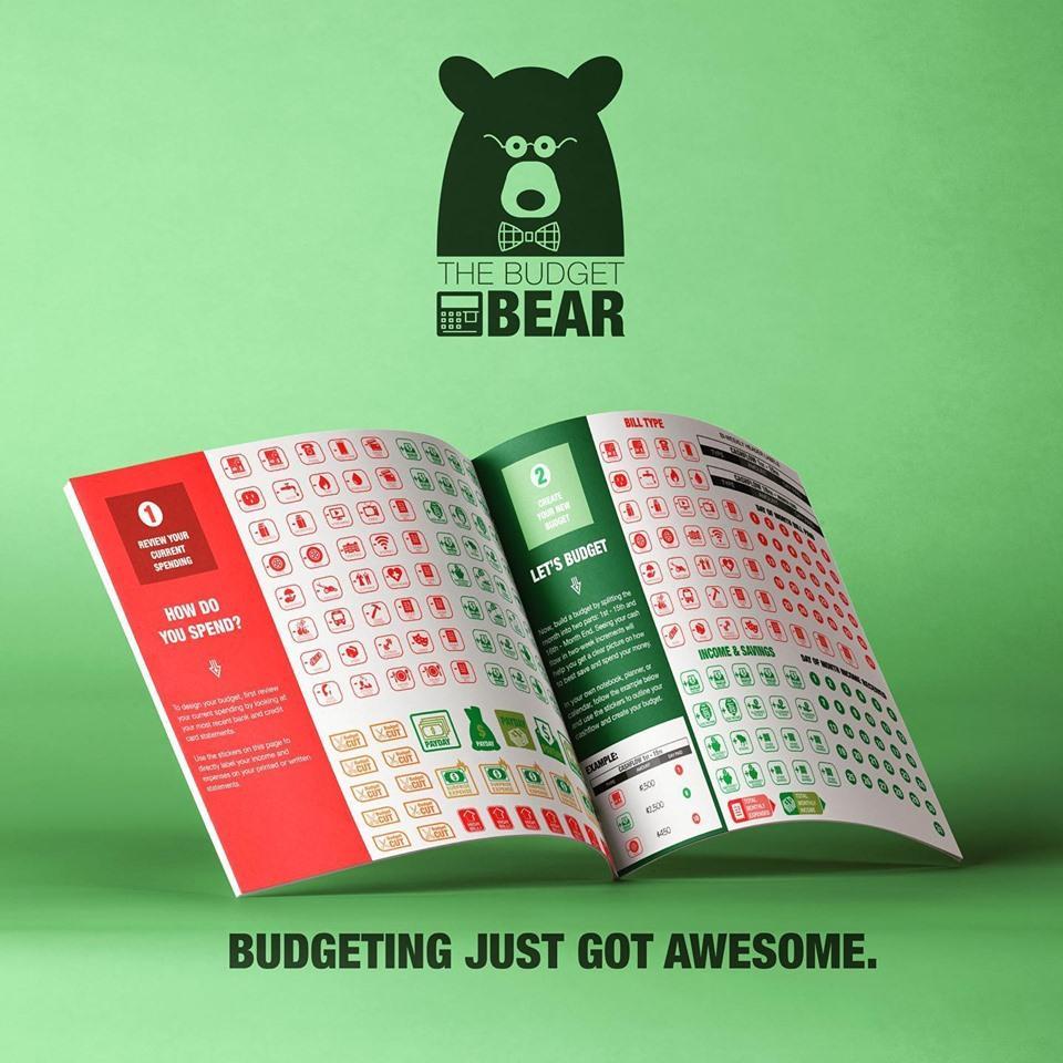 budget bear sticker pack