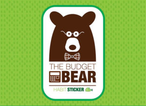 budget bear stickers