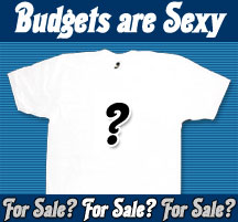 Budgets are Sexy shirts?