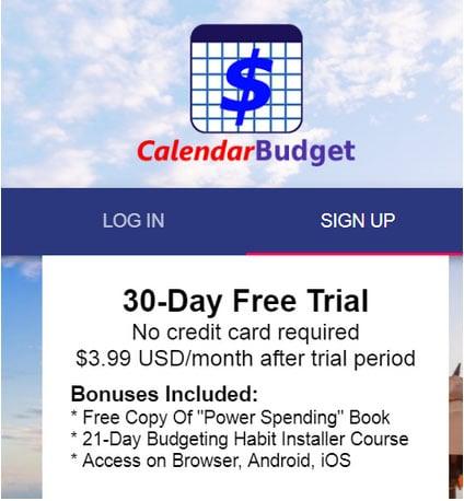 calendarbudget cost