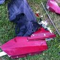 car accident pieces