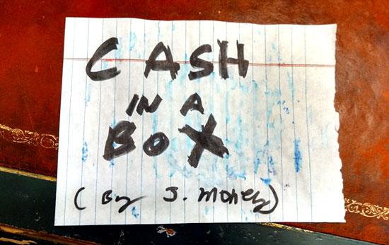 cash in a box video
