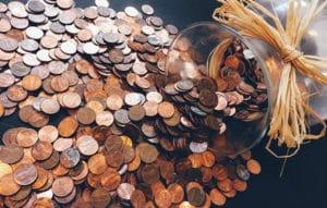 cash in money