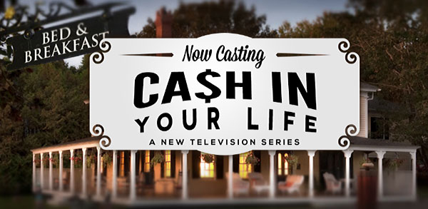 cash in your life reality tv show