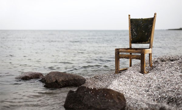 chair on beach