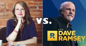 christine luken vs dave ramsey
