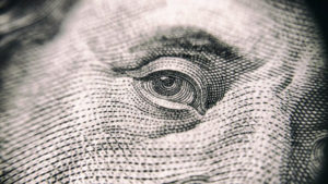 close up money