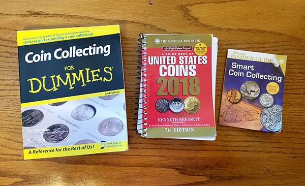 coin collecting starter books