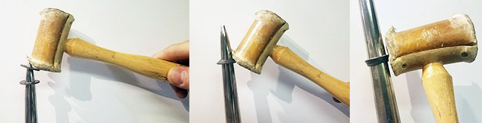 coin mallet process