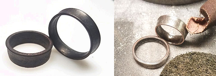 coin ring process