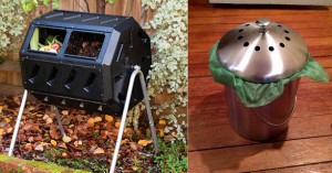 composter tumbler kitchen can