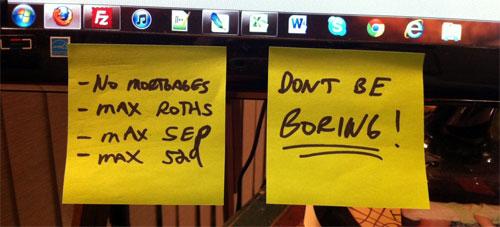 computer sticky notes