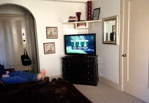 condotel bedroom living room