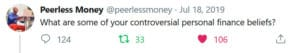 controversial financial beliefs